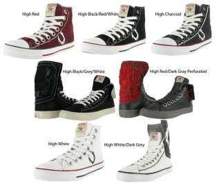 TRUE RELIGION Jeans Mens High Top Sneaker Shoes