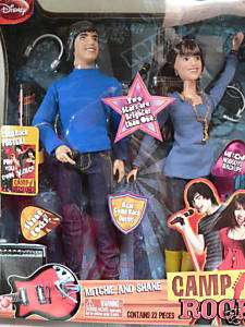 NIP DISNEY CAMP ROCK MITCHIE AND SHANE + 22 ACCESSORIES