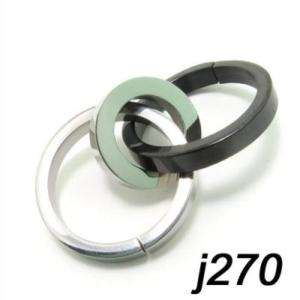 Stainless Steel 316L Circle Necklace Chain Pendant j270