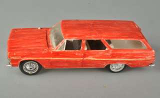 1964 Chevrolet Chevy Malibu Station Wagon Model Car Assembled Painted