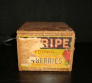 Vtg Home Made Homebrew Fruit Crate Tube Tester Transformer Radio