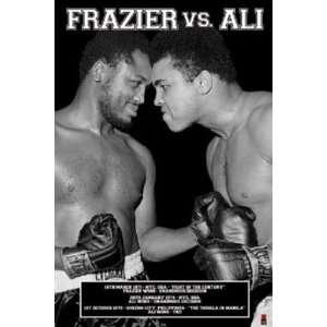 Muhammad Ali Vs. Joe Frazier Boxing Sports Poster 24 x 36