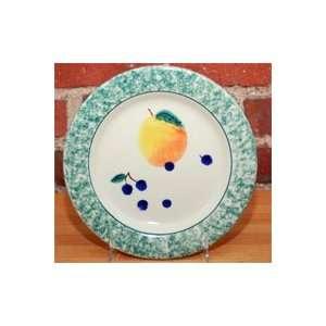 FRUIT SALAD PEACH DESSERT PLATE / SALAD PLATE Kitchen