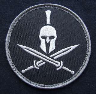 SPARTAN HELMET ARMY MILITARY MORALE MILSPEC SPECIAL BLACK OPS SWAT