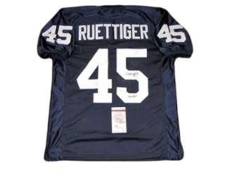 Rudy Ruettiger SIGNED Notre Dame Go Irish Jersey JSA