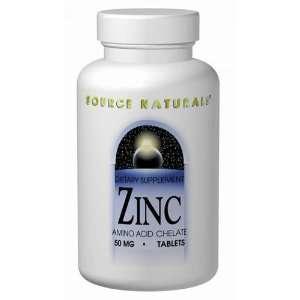 Zinc Chelate 50mg   250   Tablet:  Grocery & Gourmet Food
