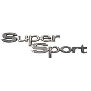 67 CHEVELLE REAR QUARTER EMBLEM, SUPER SPORT, Automotive