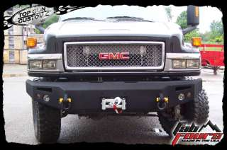 05 09 Chevy Kodiak 4500/5500/6500 Front Winch Bumper