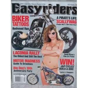 MAGAZINE   OCTOBER 2004   ISSUE # 376: EASYRIDERS MAGAZINE: Books