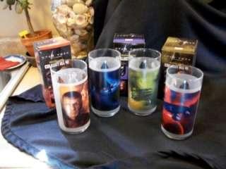 Star Trek Glass Lot 7 Spock Nero Kirk