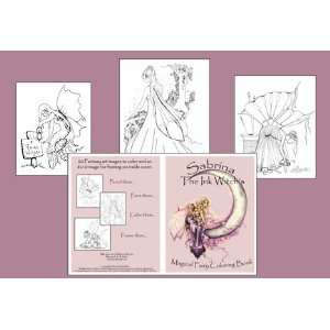 Sabrina the Ink Witch Magical Fairy Coloring Book