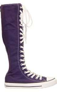 CONVERSE~Chuck Taylor~Knee High~PURPLE~All Sizes!~New