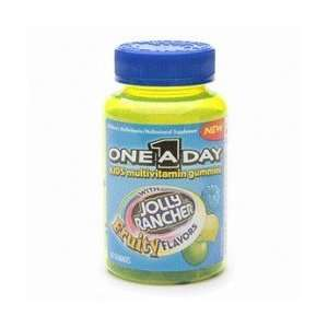 One A Day Gummies Jolly Rancher With Fruity Flavors 60ea
