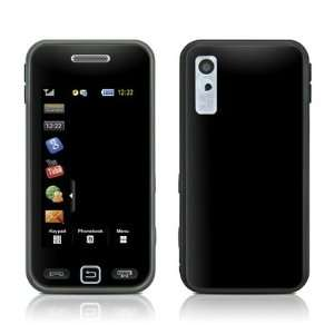 Solid State Black Design Protective Skin Decal Sticker for