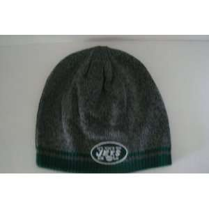 New York Jets Reversible Knit Beanie Hat Ski Skull Cap Lid