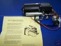 1953 1954 Chevy 12 volt wiper motor kit