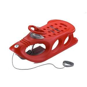 osled Snow Shuttle Deluxe Sled, Red:  Sports & Outdoors