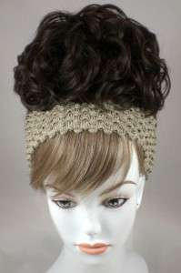 Bun Based Wiglet Chignon Updo w/Drawstring Hairpiece