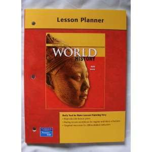 World History, Lesson Planner (9780131299818) Prentice Hall Books