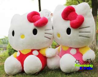 27 GIANT HELLO KITTY HUGE SOFT STUFFED GIFT DOLL CUTE PLUSH PINK/RED