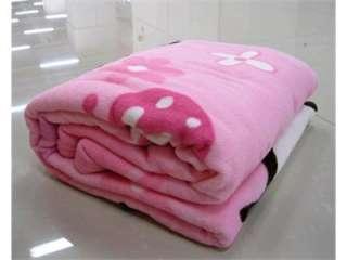 New Hello kitty Fleece Velvet blanket quilt sheet *pink* (150X200cm