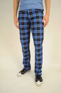 PLAID SKINNY JEANS FOR MEN AND BOYS MADE IN USA 24 38W