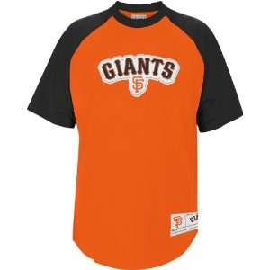 San Francisco Giants Fan Tested Orange Embroidered Crew