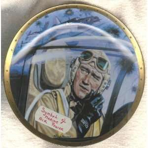 John Wayne Plate Symbol of Marine Air Power Everything