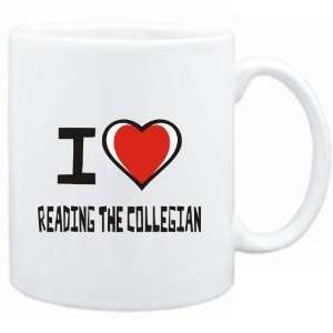 Mug White I love Reading The Collegian  Hobbies Sports & Outdoors