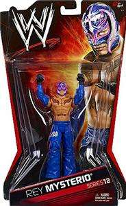 REY MYSTERIO WWE MATTEL BASIC SERIES 12 ACTION FIGURE TOY