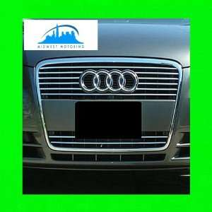 2005 2008 AUDI A6 CHROME TRIM FOR GRILL GRILLE 2006 2007 05 06 07 08 S