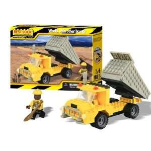 Best lock Construction Toys Dump Truck: Toys & Games