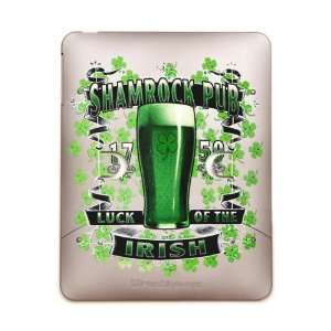 iPad 5 in 1 Case Metal Bronze Shamrock Pub Luck of the Irish 1759 St