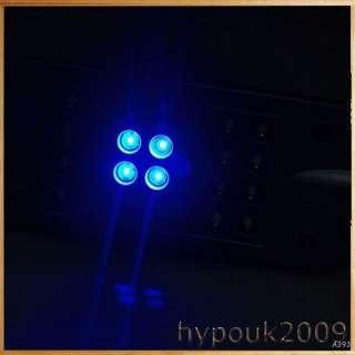 Mode Aquarium Fish Tank 4 Blue &24 White LED Claming Clasp Lamp