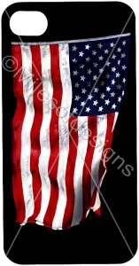 IPhone 4 4S Cover Cool Graphics Custom American Flag USA Patriotic