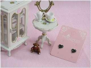 Lot of 10 Heart Costume Fashion Jewelry Studs Earrings
