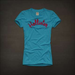 Hollister by Abercrombie womens Scripps Park Graphic Tee T Shirt NWT