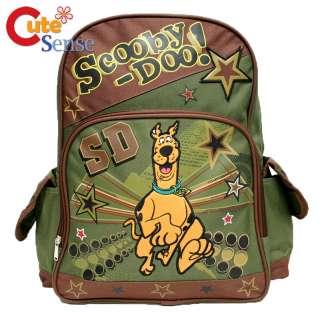 Scooby Doo School Backpack Large Bag 16 Run Star