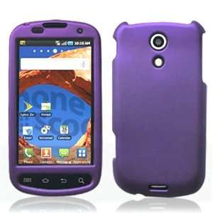 4G Cell Phone Rubber Feel Purple Protective Case Faceplate Cover Cell