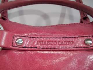 Franco Sarto Pink Magenta leather purse tote satchel nice