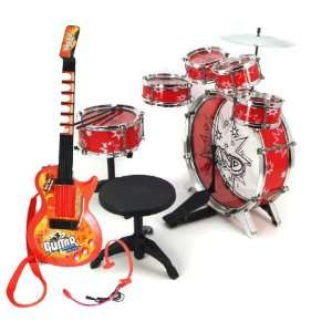 11pc Kids Boy Drum Set Musical Instrument Toy Playset Toys & Games