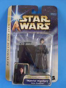 STAR WARS SAGA Janus Greejatus 3 3/4 Action Figure Tomy Japan MOC C8