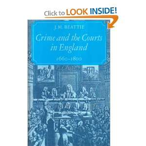 Crime and the Courts in England, 1660 1800 (9780691101668