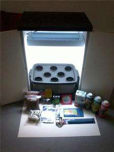 PLANT** GROW BOX**HYDROPONIC CABINET**EVERYTHING INCLUDED**