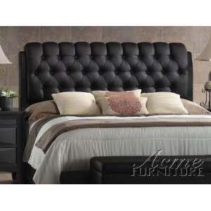 Acme 14350Q   PU Queen Bed Headboard wih Fooboard and Rails