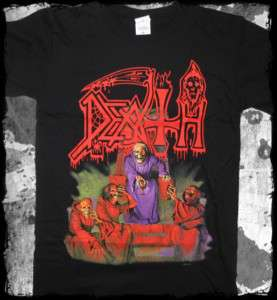 Death   scream bloody gore official t shirt death metal