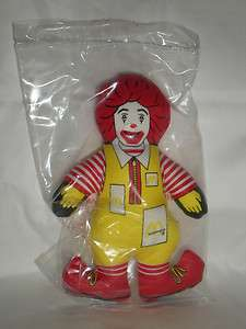 Nearly Impossible to Find!!! 5 inch Ronald McDonald Doll