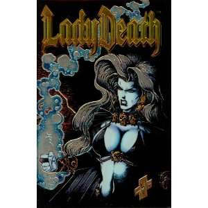 Lady Death II Between Heaven & Hell #1 Chromium Cover
