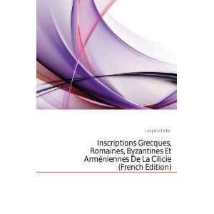 Arméniennes De La Cilicie (French Edition) Langlois Victor Books