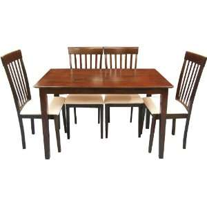 Dining Room Set (Table + 4 Chairs) Furniture & Decor